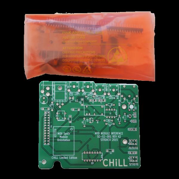 Waveblaster Modulo Scheda Interfaccia MIDI 'Chill Limited Edition' V2 - Kit di Montaggio
