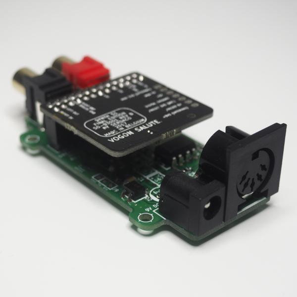 DreamFace - Modulo MIDI Interface Dreamblaster PCB con Dreamblaster Synth S1